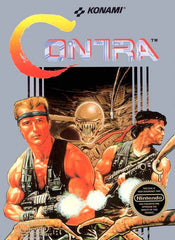 Contra (NES, 1988 ) Nintendo Entertainment System W/ Dust Cover - Games Found Here  - 1