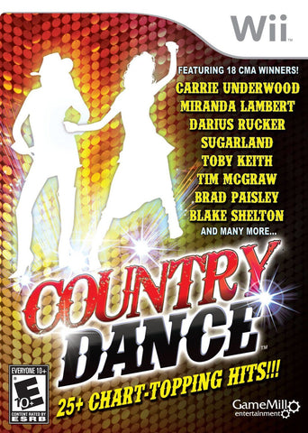 Country Dance  (Wii, 2011) Complete