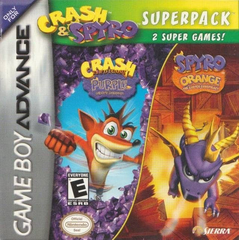 Crash & Spyro Superpack  (Nintendo Game Boy Advance, 2005)