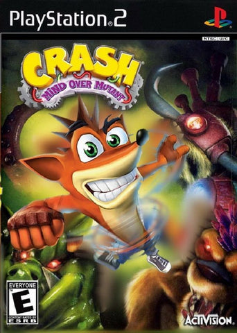 Crash: Mind Over Mutant (Sony PlayStation 2, 2008) Complete