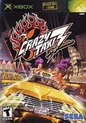 Crazy Taxi 3: High Roller (Microsoft Xbox, 2002) Complete - Games Found Here