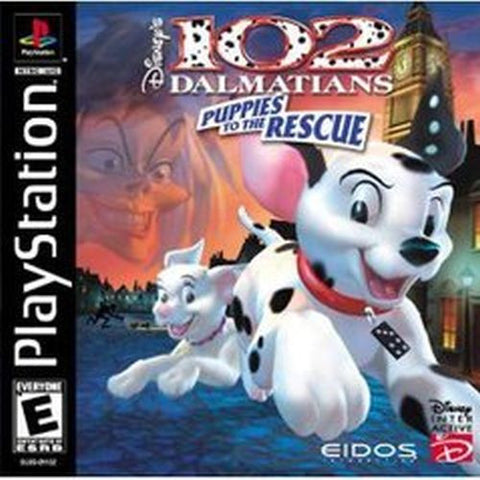 Disney's 102 Dalmatians: Puppies to the Rescue (Sony PlayStation 1, 2000) Complete