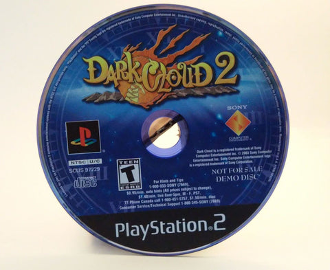 Dark Cloud 2 (Sony PlayStation 2, 2003) DEMO DISC