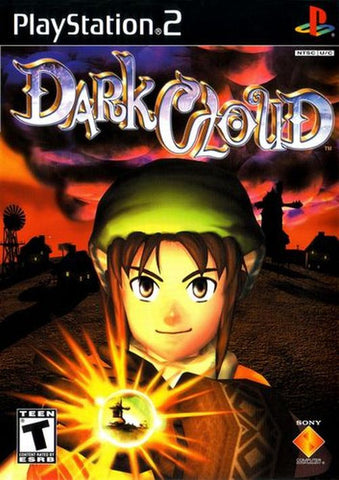 Dark Cloud  [Greatest hits] (Sony PlayStation 2, 2001) Disc Only