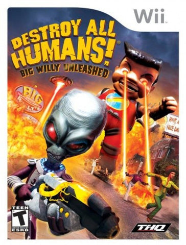 Destroy All Humans! Big Willy Unleashed  (Nintendo Wii, 2008)