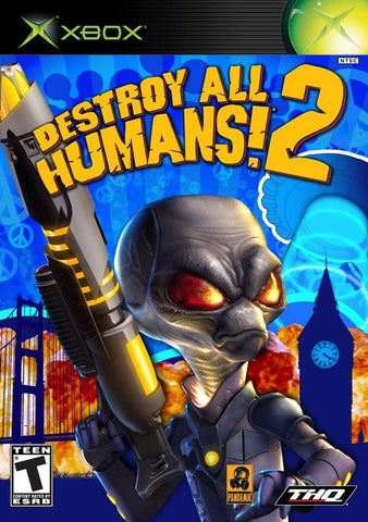 Destroy All Humans! 2  (Microsoft Xbox, 2006)