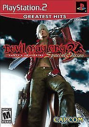 Devil May Cry 3: Dante's Awakening -- Special Edition (PlayStation 2, 2005) Disc Only
