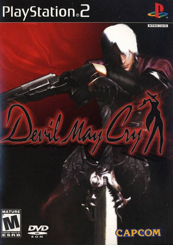 Devil May Cry Greatest Hits (Sony PlayStation 2, 2002) Disc Only