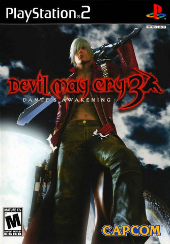 Devil May Cry 3: Dante's Awakening -- Special Edition (PlayStation 2, 2005) Black Label
