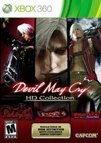 Devil May Cry HD Collection  (Xbox 360, 2012) Complete