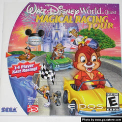 Walt Disney World Quest: Magical Racing Tour (Sega Dreamcast, 2000) - Games Found Here