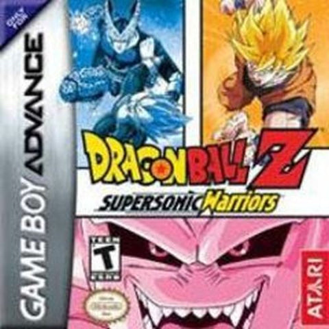 Dragon Ball Z: Supersonic Warriors (Nintendo Game Boy Advance, 2004) GBA