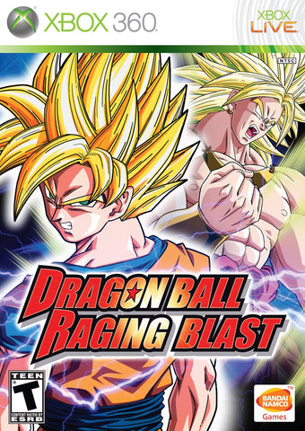 Dragon Ball: Raging Blast (Microsoft Xbox 360, 2009) Complete