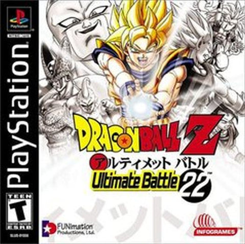Dragon Ball Z: Ultimate Battle 22 (Sony PlayStation 1, 2003) American Version