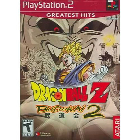 Dragon Ball Z: Budokai 2 (Sony PlayStation 2, 2003) Greatest Hits