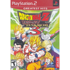 Dragon Ball Z: Budokai Tenkaichi 3 (Sony PlayStation 2, 2007) Greatest Hits - Games Found Here