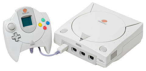 Sega Dreamcast Console System With Hookups and Memory Card HKT-3020