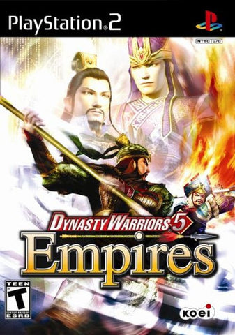 Dynasty Warriors 5: Empires  (Sony PlayStation 2, 2006) Complete
