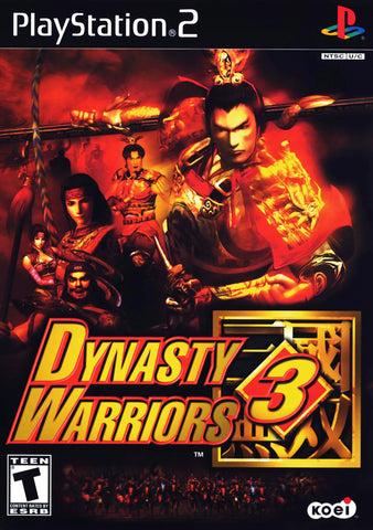 Dynasty Warriors 3 (Sony PlayStation 2, 2001) Complete