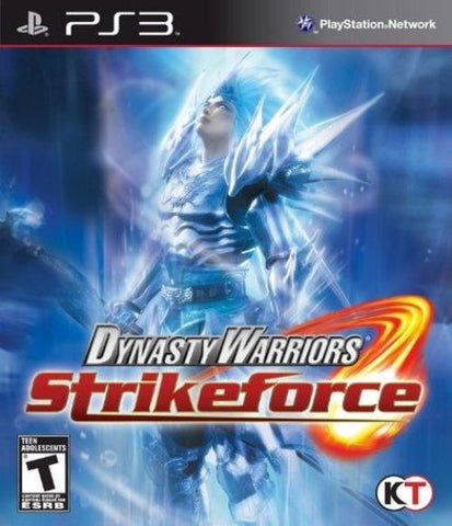 Dynasty Warriors: Strikeforce (Sony PlayStation 3, 2010) Complete