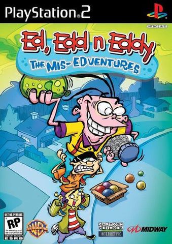 Ed, Edd n Eddy: The Mis-Edventures (Sony PlayStation 2, 2005) Complete