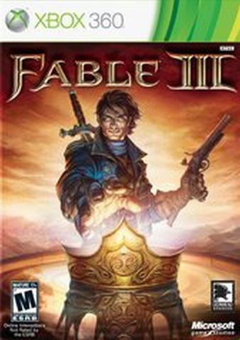 Fable III (Microsoft Xbox 360, 2010) New Factory Sealed