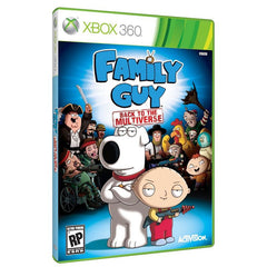 Family Guy: Back to the Multiverse (Microsoft Xbox 360, 2012)