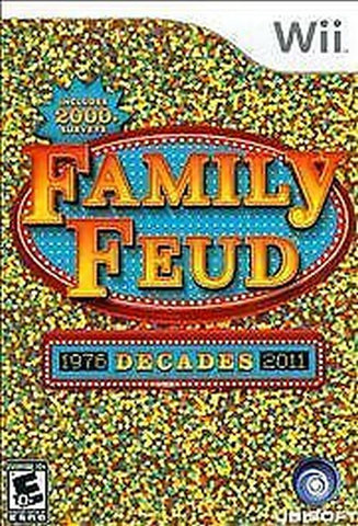 Family Feud: Decades (Nintendo Wii, 2010) Complete
