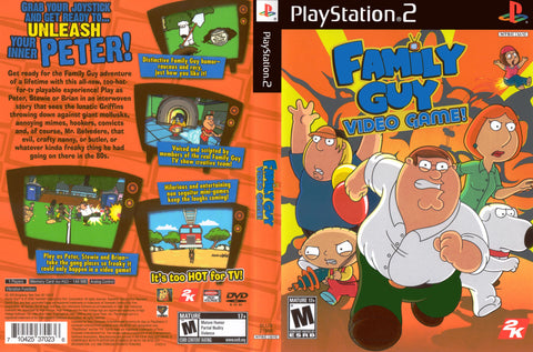 Family Guy (Sony PlayStation 2, 2006) Complete