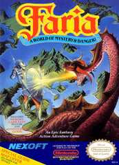 Faria: A World of Mystery and Danger (Nintendo Entertainment System, NES, 1991) - Games Found Here  - 1