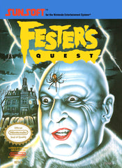 Fester's Quest (Nintendo Entertainment System, NES, 1989) - Games Found Here  - 1