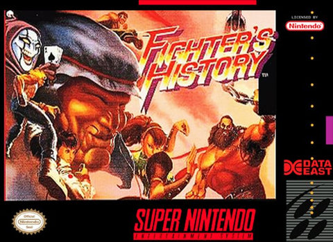 Fighter's History (Super Nintendo Entertainment System, 1994)