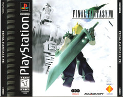 Final Fantasy VII (Sony PlayStation 1, 1997) Black Label - Games Found Here