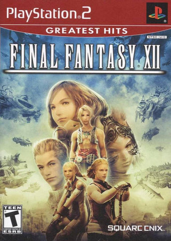 Final Fantasy XII  (Sony PlayStation 2, 2006) Greatest Hits