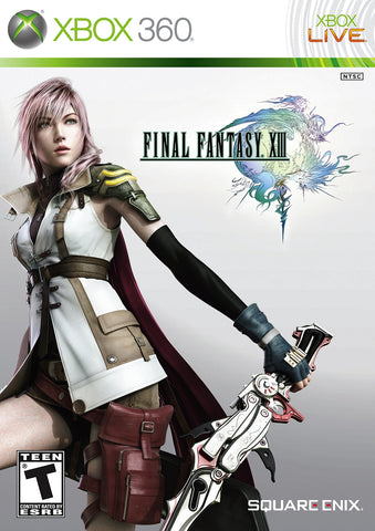 Final Fantasy XIII  (Microsoft Xbox 360, 2010) Complete 3 Disc Set