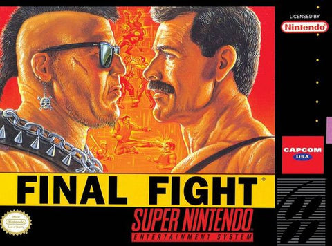 Final Fight (Nintendo SNES, 1991) Acceptable