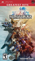 Final Fantasy Tactics: The War of the Lions (Sony PSP, 2007) Complete - Games Found Here
