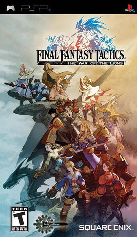 Final Fantasy Tactics: The War of the Lions  (PlayStation Portable, 2007)