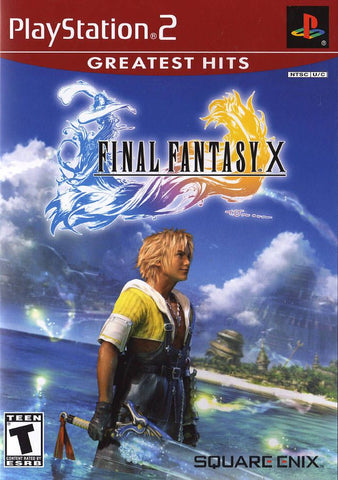 Final Fantasy X (Sony PlayStation 2, 2001) [Greatest Hits] Complete