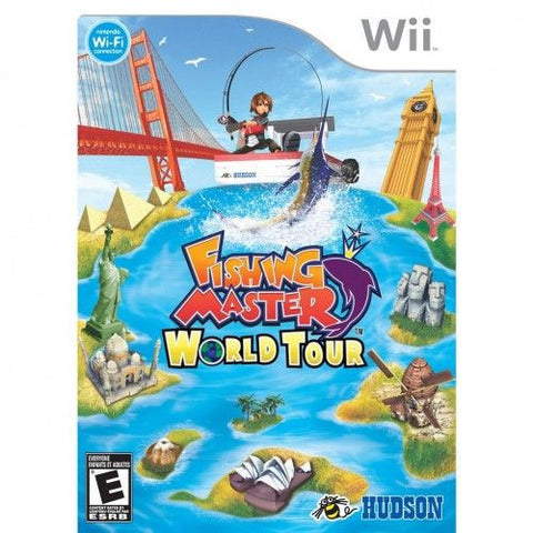 Fishing Master World Tour (Nintendo Wii, 2009) Complete
