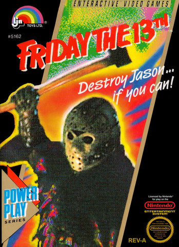 Friday the 13th (Nintendo Entertainment System, 1989)