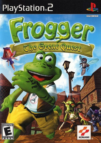 Frogger: The Great Quest (Sony PlayStation 2, 2001) Complete