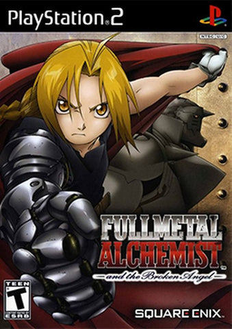 FullMetal Alchemist and the Broken Angel  (Sony PlayStation 2, 2005) Complete