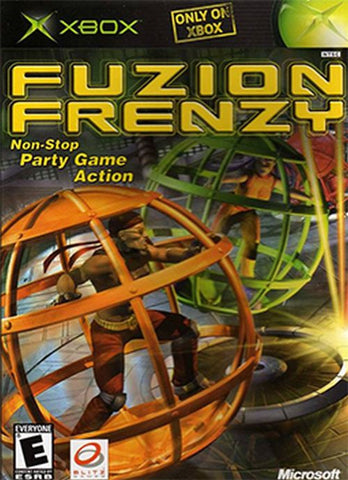 Fuzion Frenzy [Black Label]  (Xbox, 2004) Complete