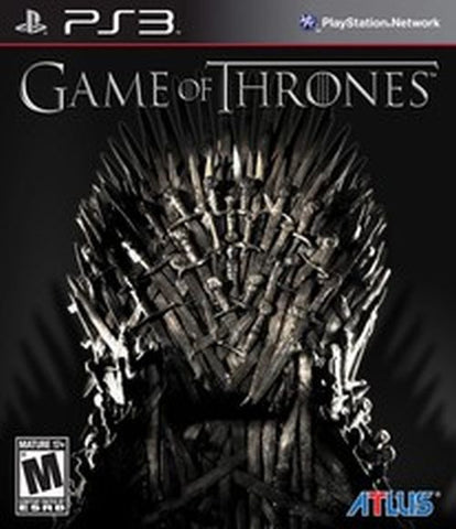 Game of Thrones (Sony PlayStation 3, 2012) Complete