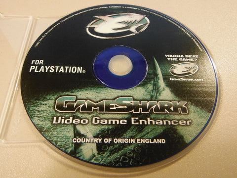 GameShark Enhancer for PlayStation 1 2002 Version 5