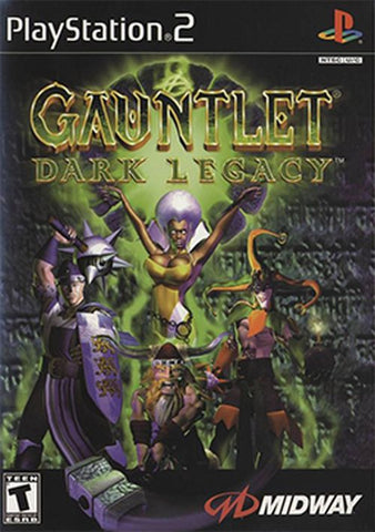 Gauntlet: Dark Legacy (Sony PlayStation 2, 2001) Complete