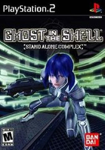 Ghost in the Shell: Stand Alone Complex (Sony PlayStation 2, 2004) Complete