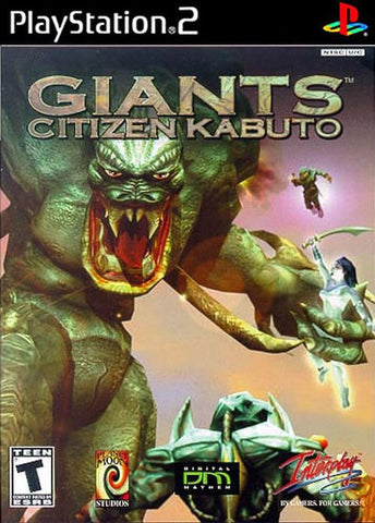Giants: Citizen Kabuto (Sony PlayStation 2, 2001) Complete