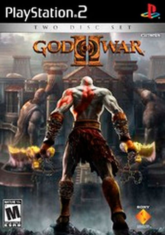 God of War II -  (Sony PlayStation 2, 2007) With Original 2 Disc Case and Bonus DVD